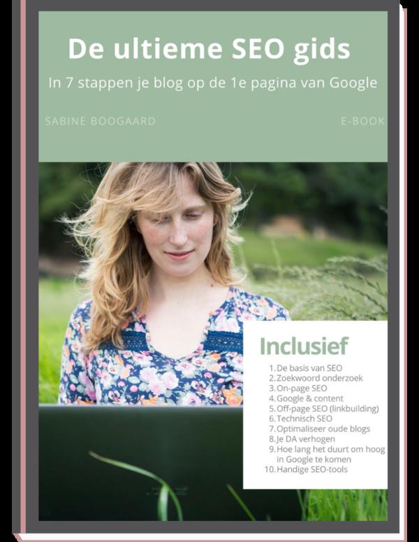 In 7 stappen om website op eerste pagina Google te krijgen